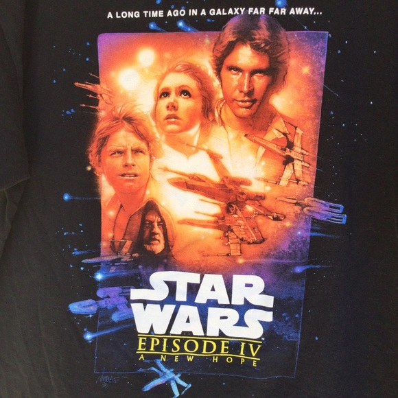 Star Wars black T-Shirt L